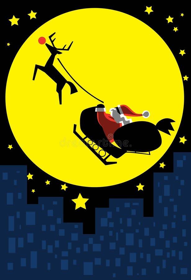 rudolf Santa ilustracja wektor