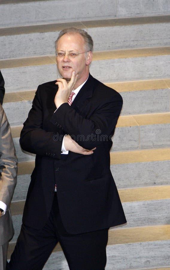 Rudolf Scharping photo libre de droits