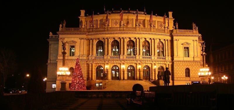 Rudolfinum salle de concert - Prague photo stock