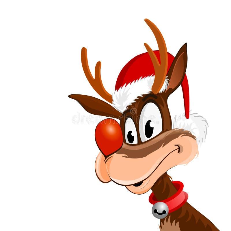 Download Rudolph ilustração stock. Ilustração de sinos, rena, fundo - 16873818