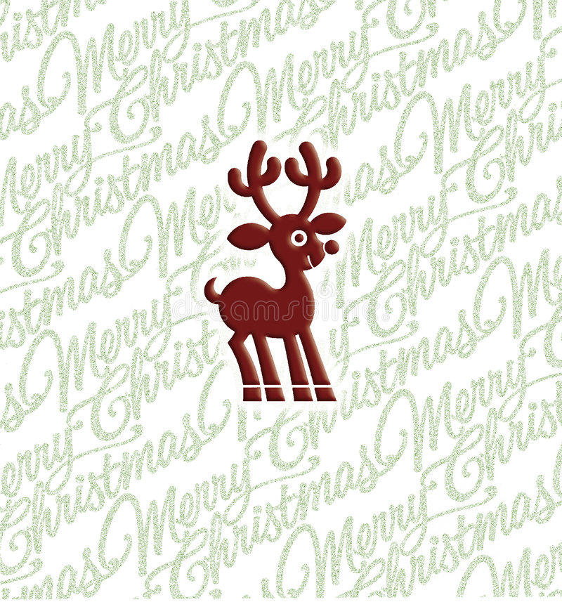 Rudolph royalty-vrije stock afbeelding