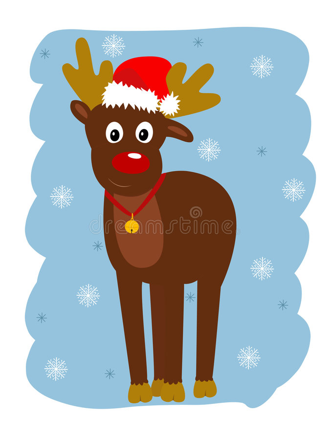 Rudolph lizenzfreie abbildung