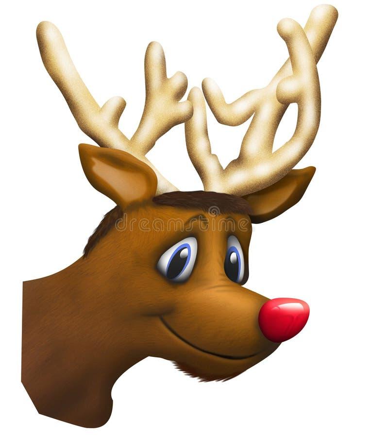 Rudolph ilustracyjny zdjęcia stock
