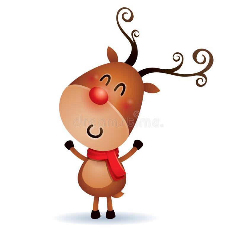 Rudolph Reindeer stock abbildung