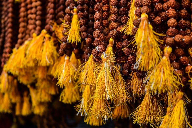 Rudraksha święta perła India zdjęcie stock