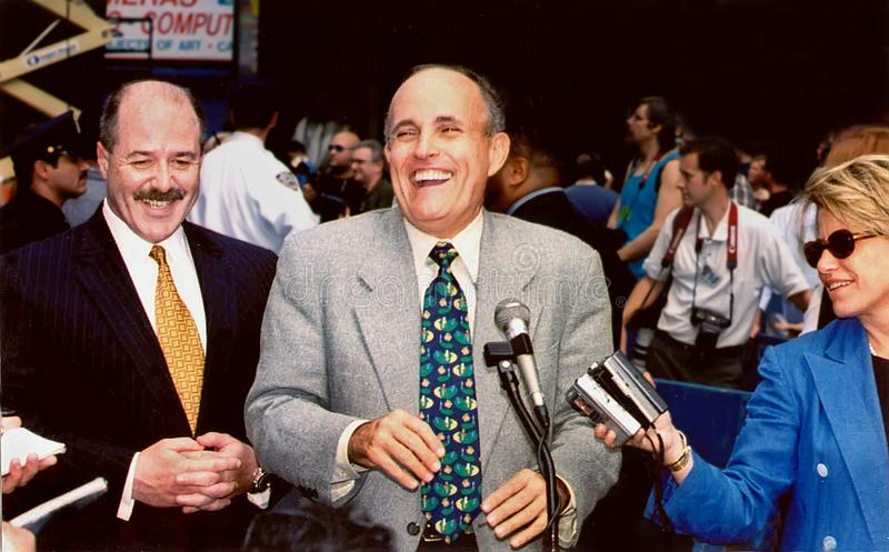 Rudy Giuliani royalty free stock images
