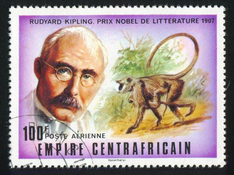 Rudyard Kipling fotos de archivo libres de regalías