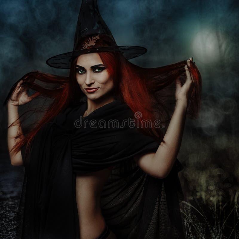 Rudzielec czarownica obraz stock