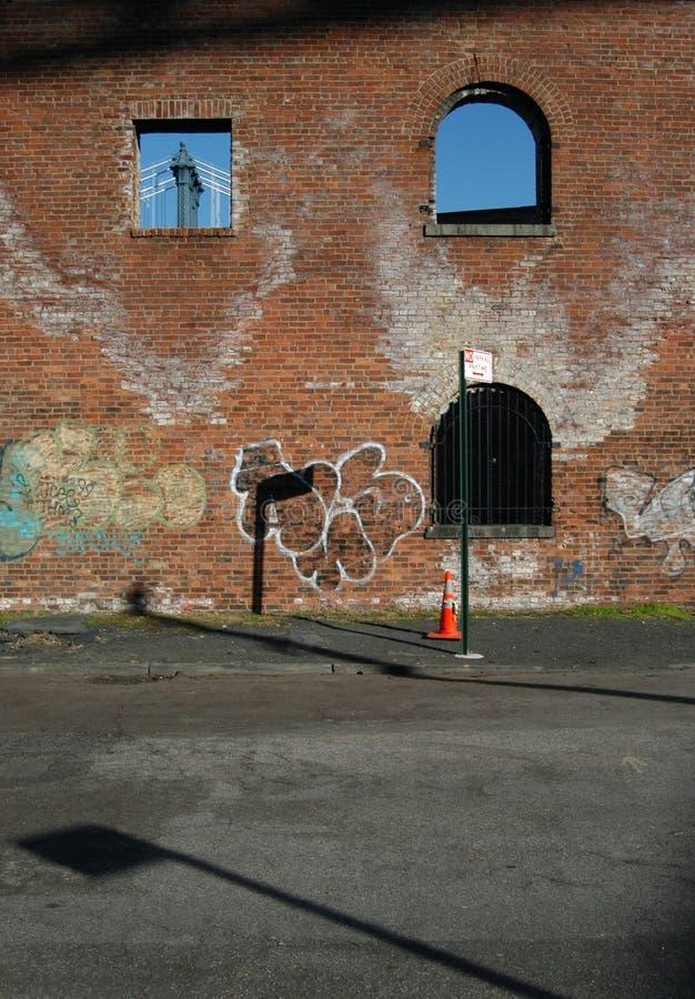 Rue à Brooklyn image libre de droits