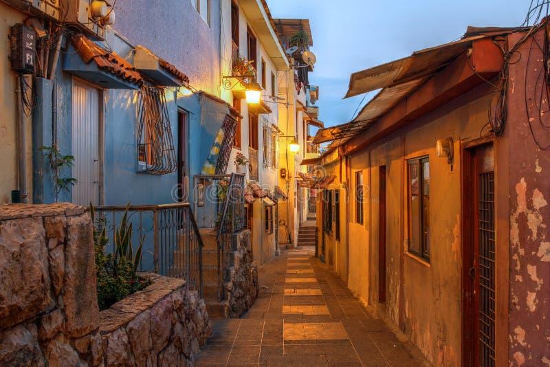 Rue à Guayaquil, Equateur photographie stock