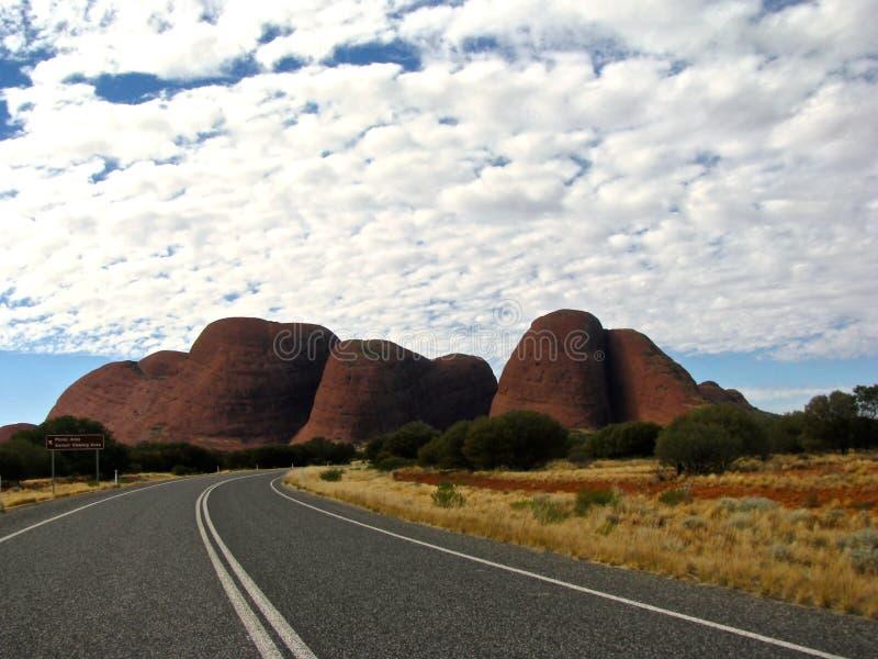 Rue à l'Australie à l'intérieur photo libre de droits