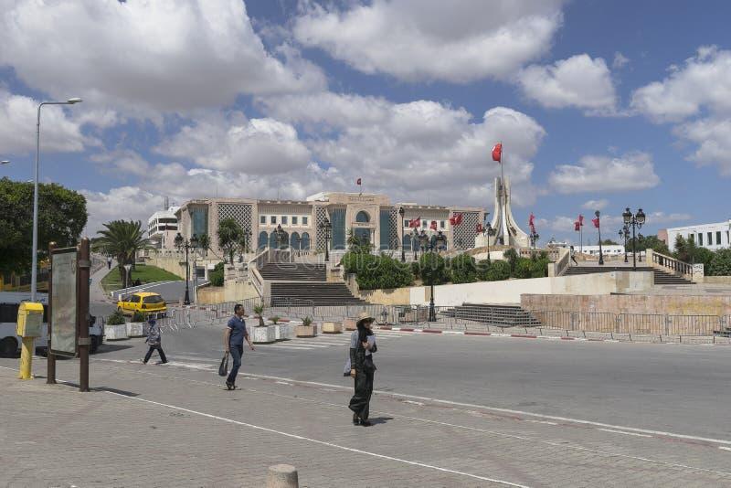 Rue à Tunis photos libres de droits