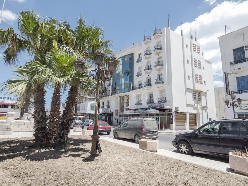 Rue à Tunis photographie stock libre de droits