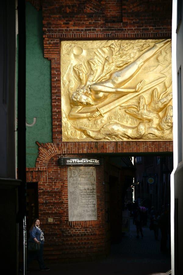 Download Rue Brême de Boettcher image stock éditorial. Image du ville - 77154484
