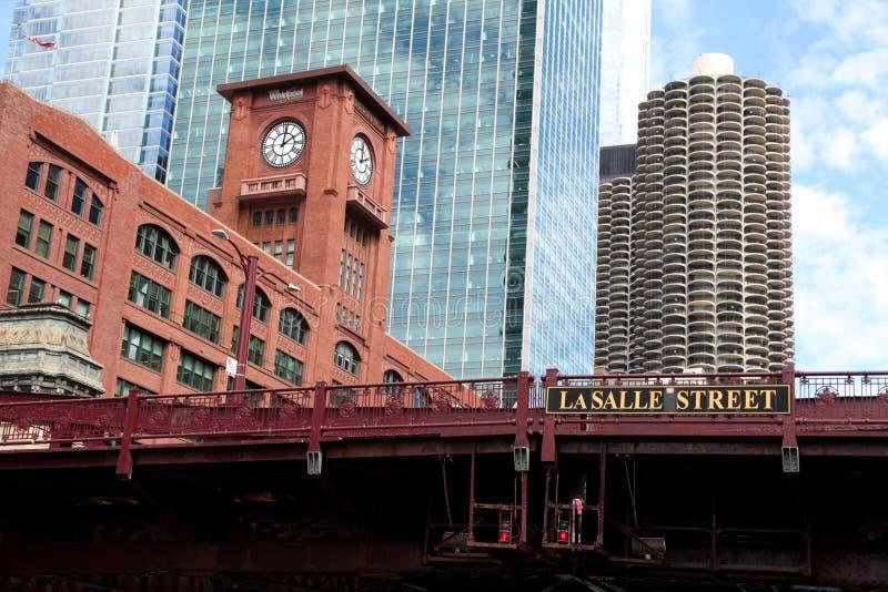 Rue Chicago de LaSalle photos libres de droits
