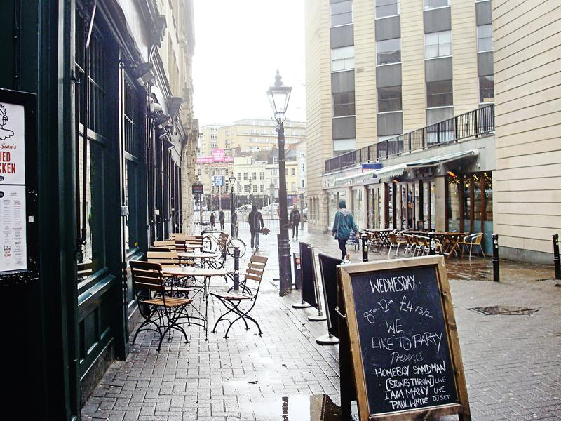 Rue Clare à Bristol photos stock