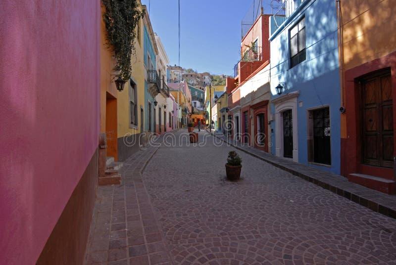 Rue colorée au Mexique photos stock