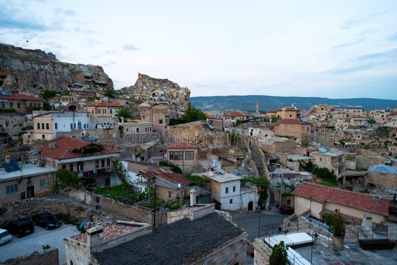 Rue d'Urgup Vue de la ville dans Urgup, Cappadocia photo stock