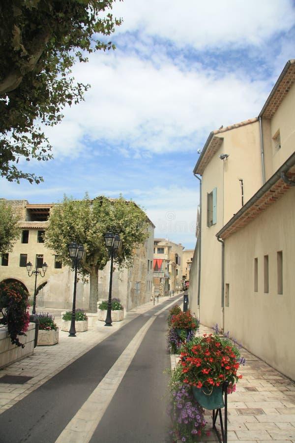 Rue dans l'orange, France image libre de droits