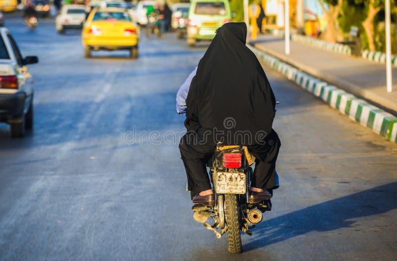 Rue dans Qom images libres de droits