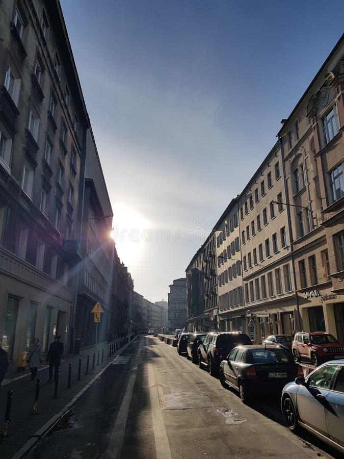 """Rue de """"de PoznaÅ photos libres de droits"""