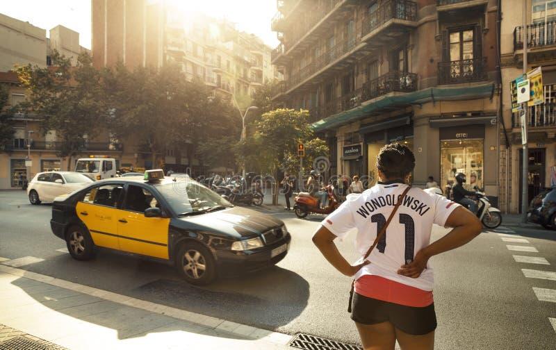 Rue de Barcelone photos libres de droits