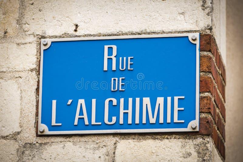Rue de Bourges, Bourges, France images stock