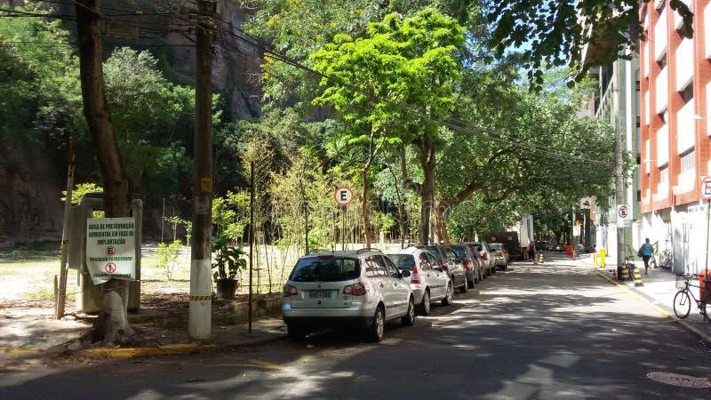Rue de Bucoli dans Rio de Janeiro photo stock