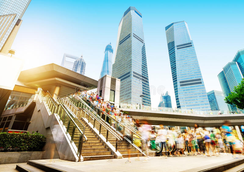 Rue de Changhaï photographie stock