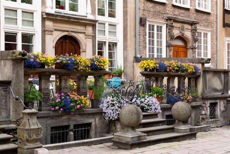 Rue de Danzig Mariacka photos stock