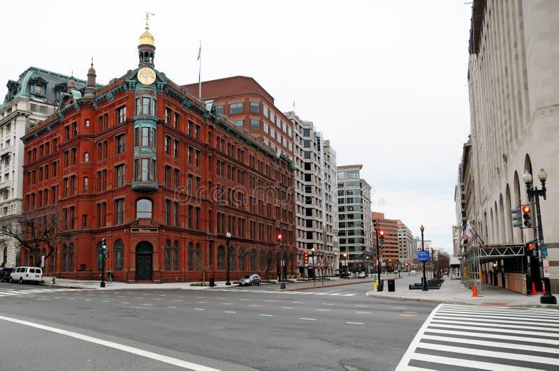 Rue de DC de Washington images libres de droits