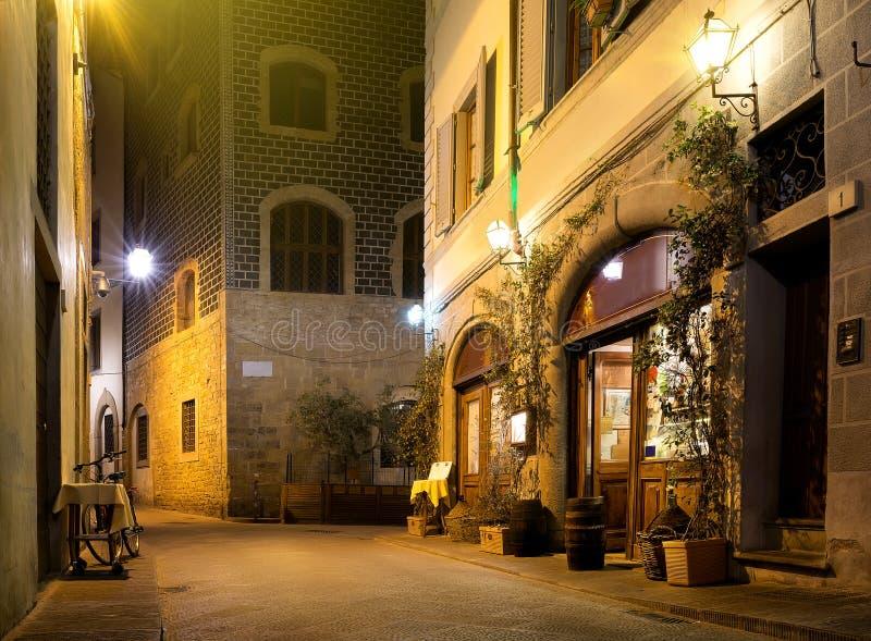 Rue de Florence images libres de droits