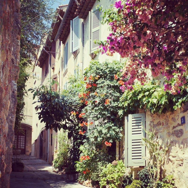 Rue de Grimaud photos libres de droits