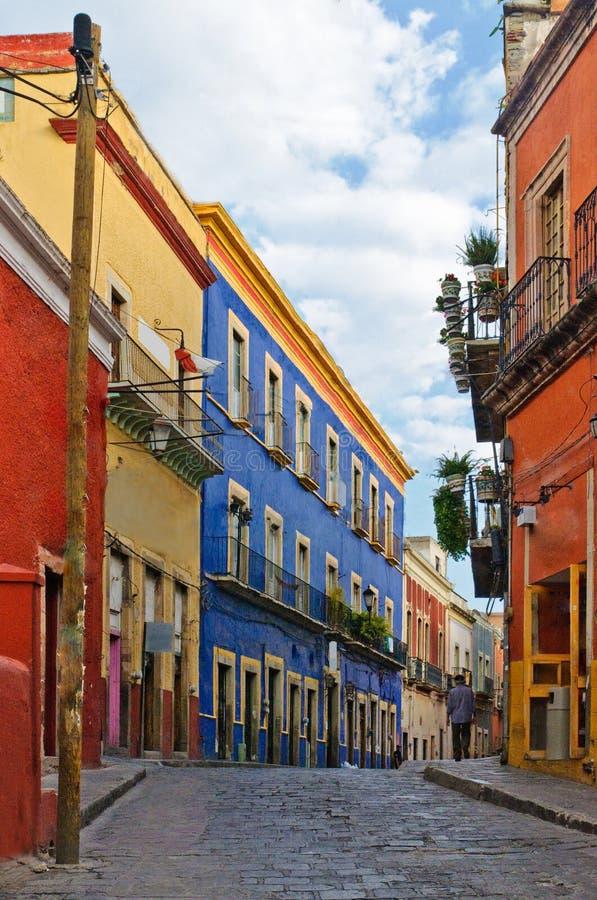 Rue de Guanajuato images stock