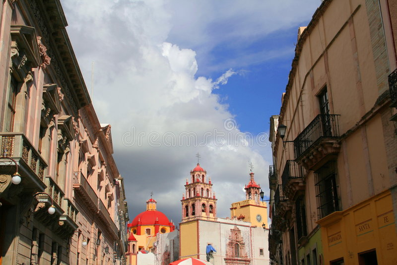 Rue de Guanajuato photographie stock