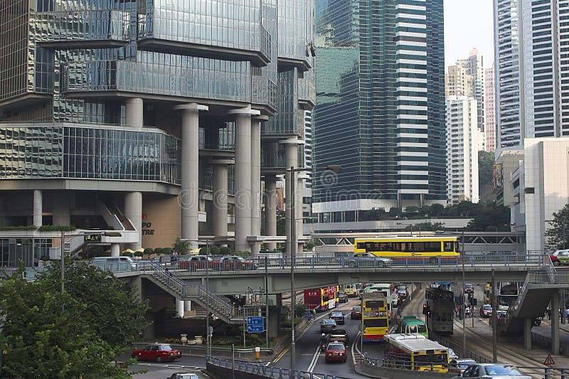 Rue de Hong Kong photographie stock libre de droits