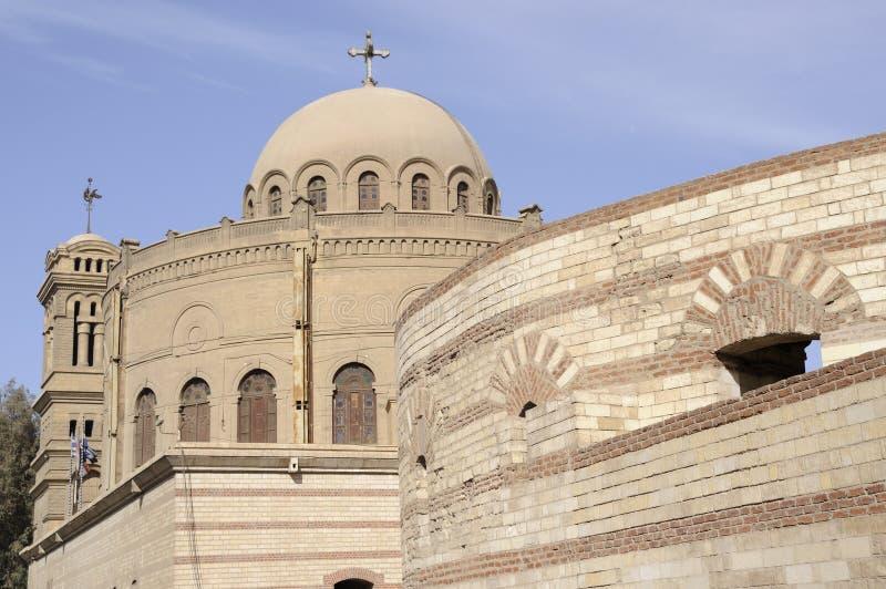 rue de l'Egypte george s d'église du Caire images stock