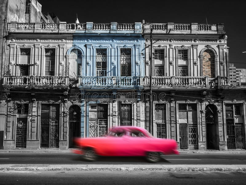 Rue de La Havane, Cuba photo libre de droits