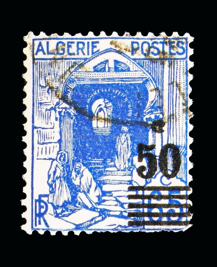 Rue de la Kasbah-Kasbah gata, serie, circa 1941 arkivfoto