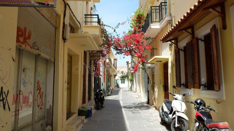 Rue de la vieille ville photos stock
