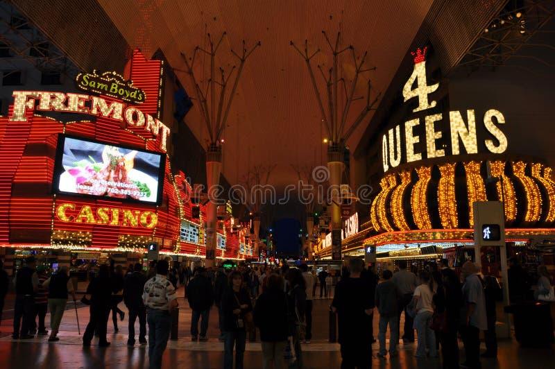 Rue de Las Vegas Fremont photographie stock libre de droits