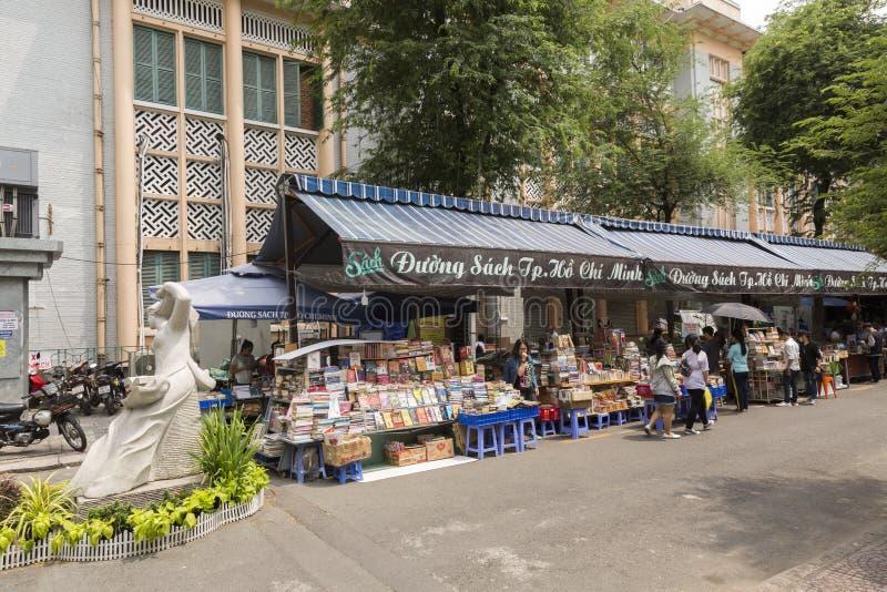 Rue de livre en Ho Chi Minh photographie stock