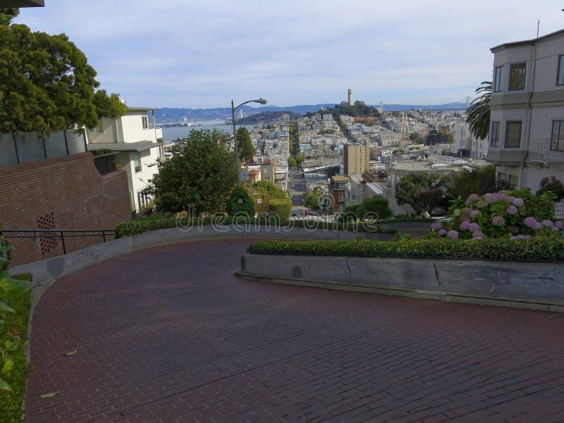 Rue de Lombard à San Francisco image stock