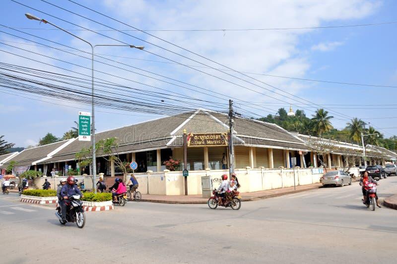 Rue de Luang Prabang photos libres de droits