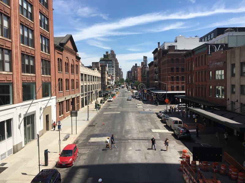 Rue de Manhattan image stock