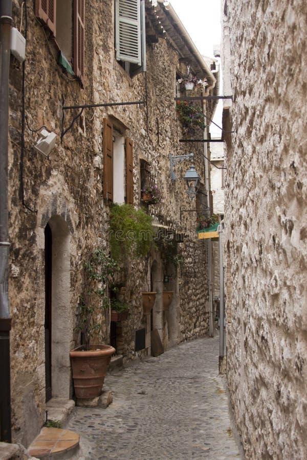 Rue de Midieval photo libre de droits