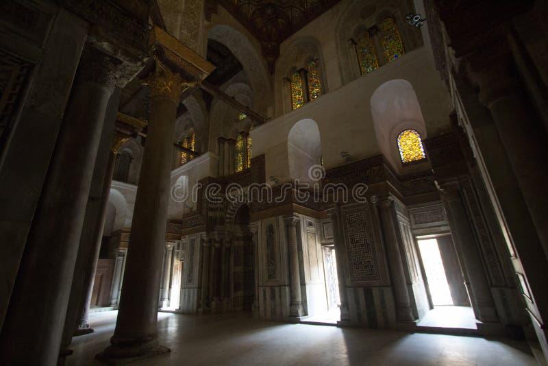 Rue de Moez de mosquées photos libres de droits