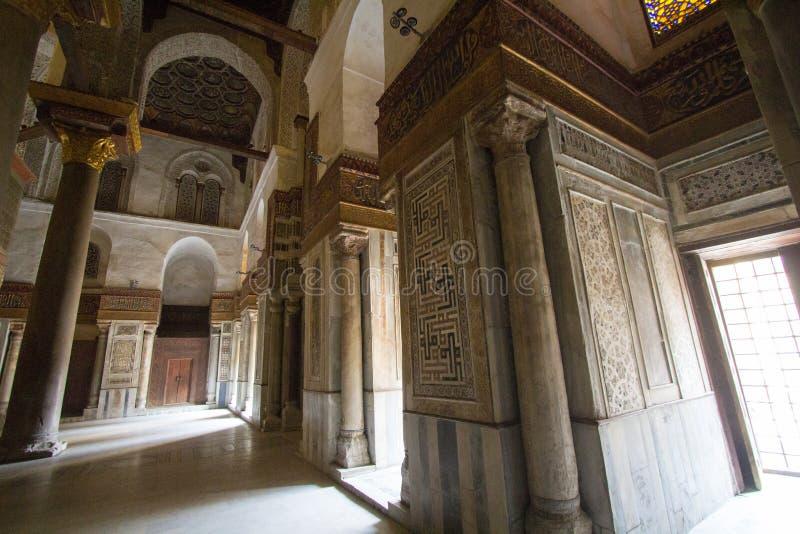 Rue de Moez de mosquées image libre de droits