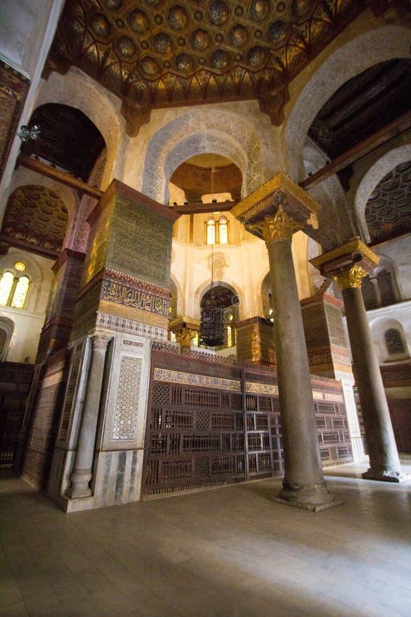 Rue de Moez de mosquées images libres de droits