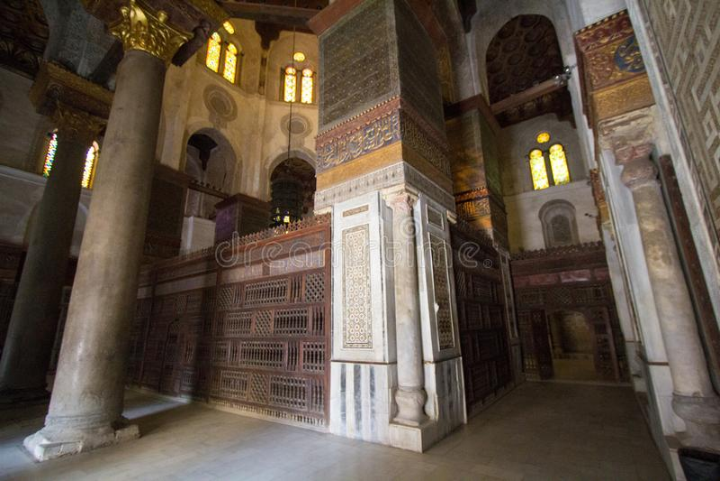 Rue de Moez de mosquées images stock